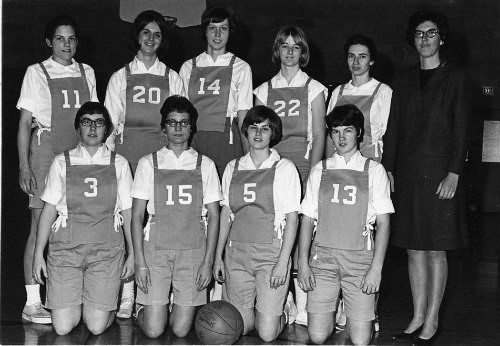 Goshen College Women's Basketball, 1967