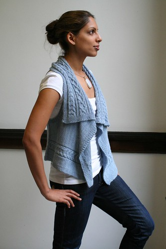 Cloud Chaser Vest | by indiknits