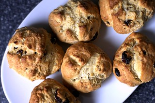 butter-brushed soda bread scones | by smitten kitchen