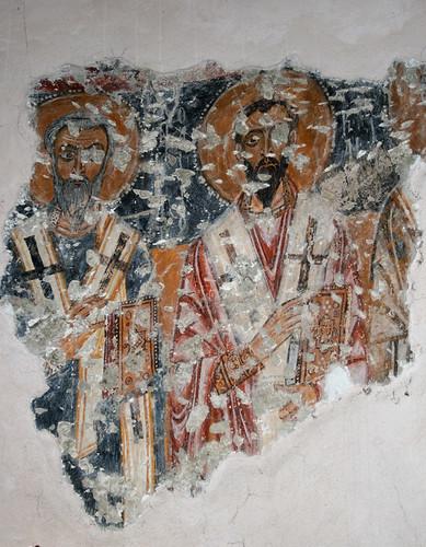 12th Century Frescos in the Byzantine Church of St. Jason ...