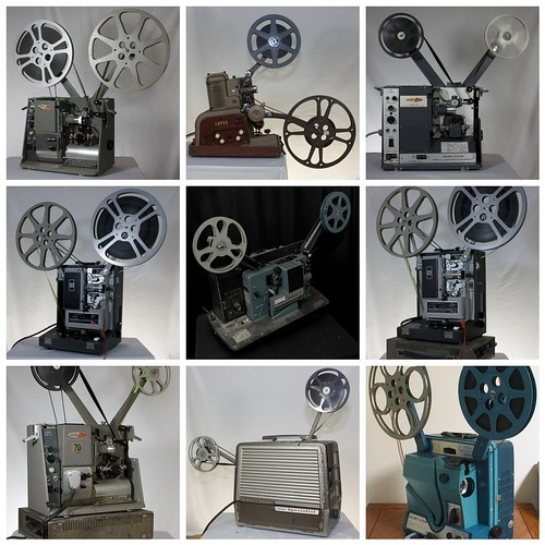16mm Sound Movie Projectors | by Carbon Arc
