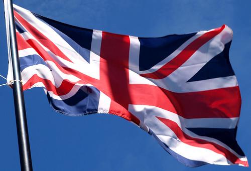 British flag (Union Jack) in Bangor