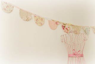 Pretty vintage style garland | by Emilie Monday