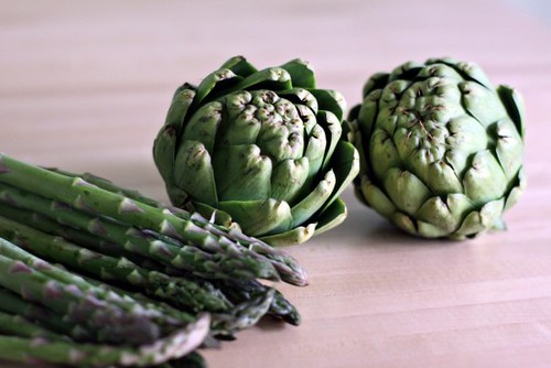 artichokes and asparagus | by Cascadian Farm