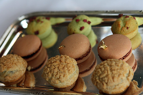 macarons, paris-brest, financiers | by David Lebovitz