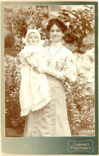 Mother and Child Cabinet Card - 1910 | by sunnybrook100