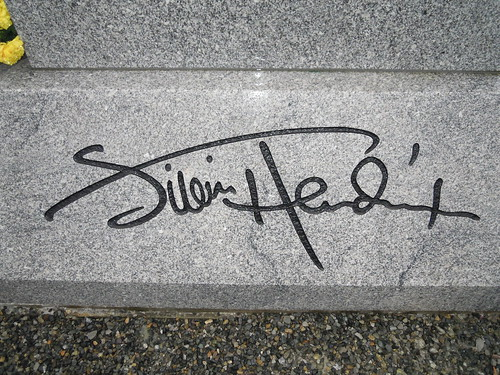 jimi hendrix signature michael garza flickr