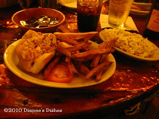The Lobster Barn, York, Maine: Lobster Roll | by Dianne's Dishes