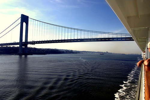 the verrazano went by our patio | by smitten kitchen