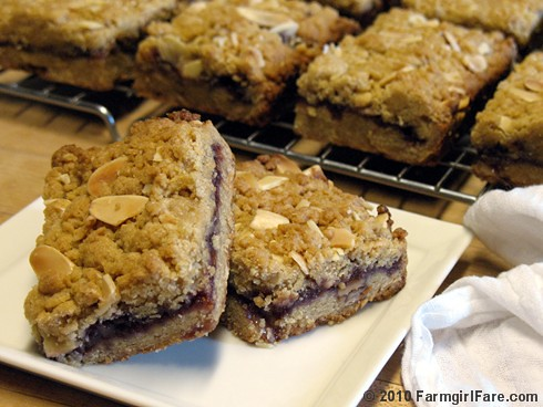 Easy Raspberry Almond Bars 1 | by Farmgirl Susan