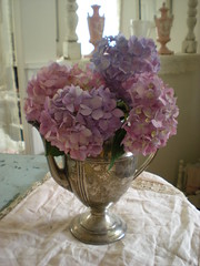 ~Lavender Hydrangeas~ | by ~Romantic~Vintage Home~