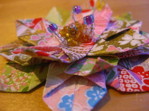 Scrap Flower | by umeorigami