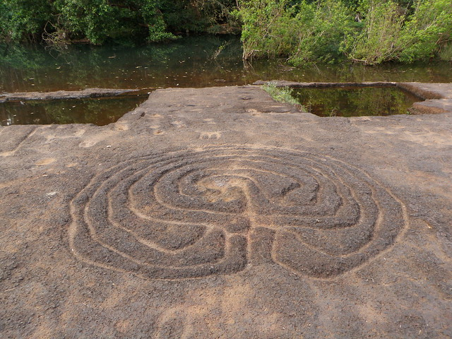 Pansaimol Rock Carvings - over 8000 or 9000 years old