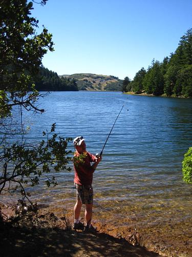 Teach a man to fish bon tempe lake near fairfax ca for Bon tempe lake fishing