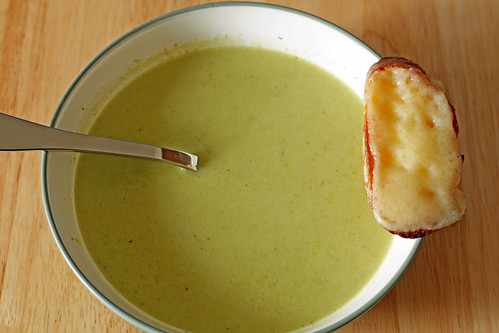 cream of asparagus soup | by Madison Bistro