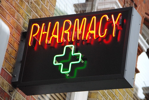 Pharmacy sign in Soho | by renaissancechambara
