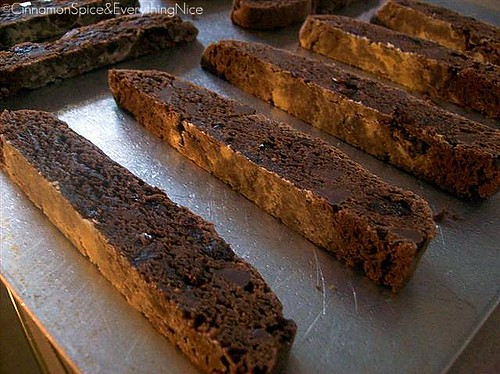Chocolate Cherry Biscotti | by CinnamonKitchn