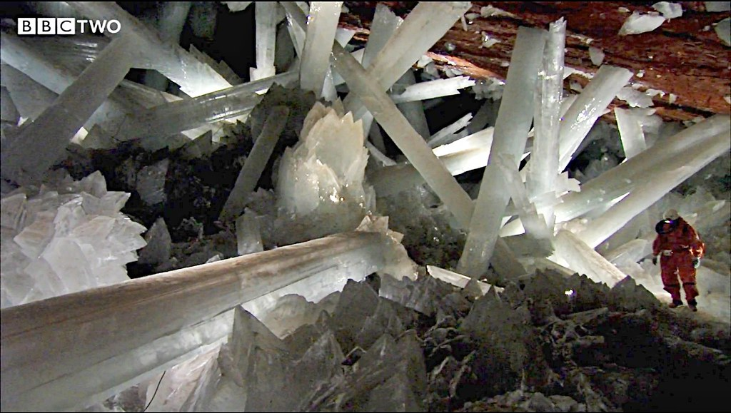 The Cave Of The Crystals