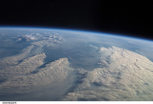 Forest fires from space nasa international space station for Space station 13 3d