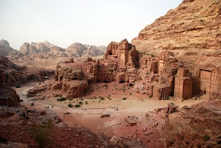 the street of facades, petra | by hopemeng