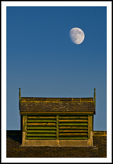 Moon over Hoults Yard - 342/365 | by Paul J White