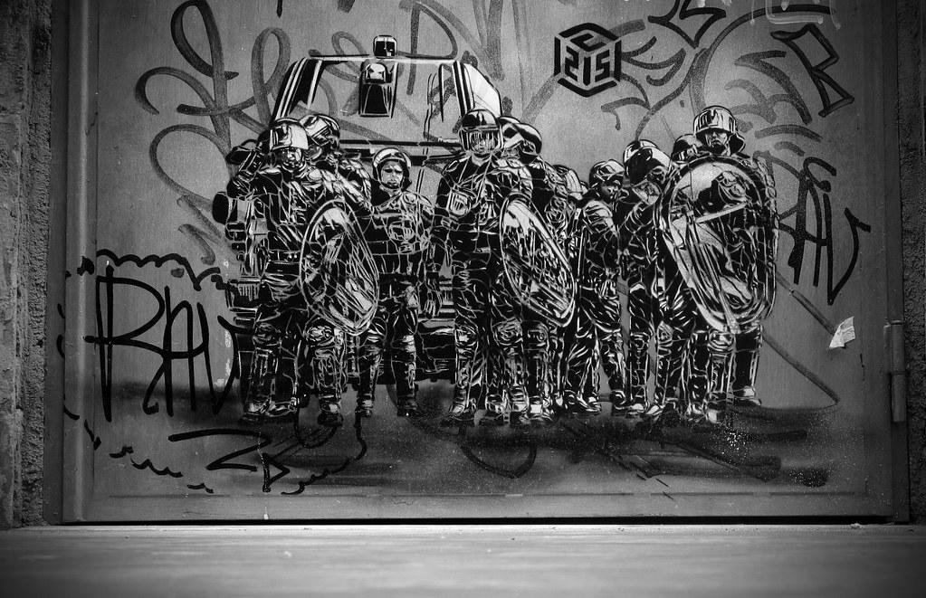 Street art dans le quartier de San Lorenzo à Rome - Photo de Marek Edelman.