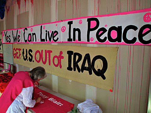 Code Pink: Seventh Anniversary of Iraq War, Protest, Washington, DC | by Gerald L. Campbell