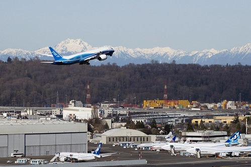 KBFI The airport of the future - Boeing Flight Test | by wings777
