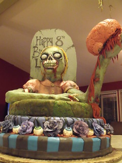 zombie cake complete 8 | by Cake Rhapsody