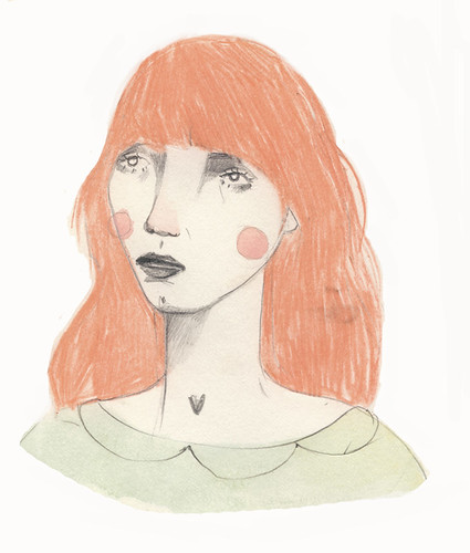 Flo. | by Clare Owen Illustration
