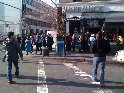 Shake Shack line (I ain't going) | by rduffy