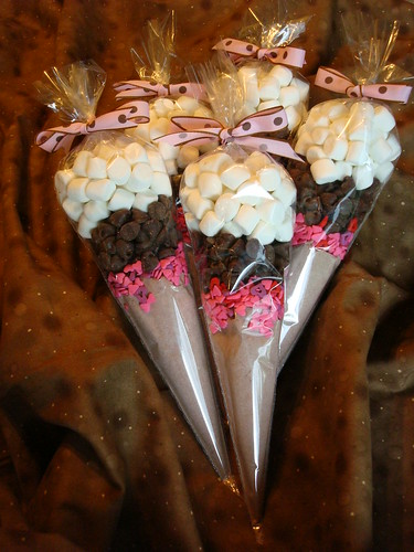Valentine's Hot Chocolate Cones | by The Constant Baker