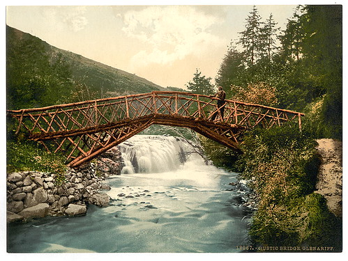 [Rustic Bridge in Glenariff. County Antrim, Ireland] (LOC) | by The Library of Congress