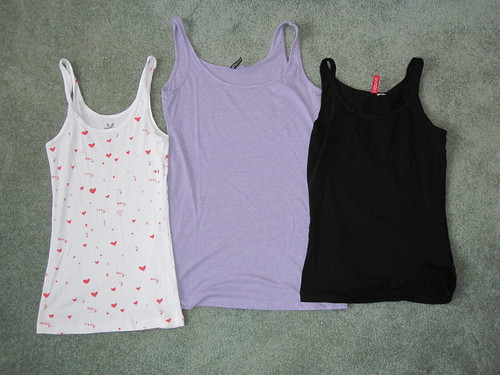 Tank tops | by veganbackpacker