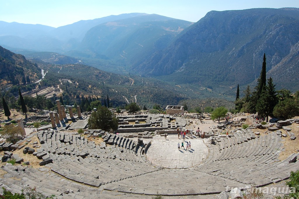 Anfiteatro de Delfos - Grécia