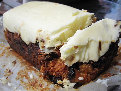 Vegan Carrot Cake from Quay Co-op | by veganbackpacker