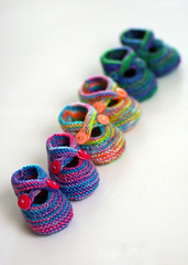Booties in triplicate | by kathrynivy.com