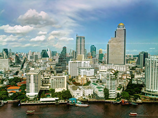 Bird's Eye View of Bangkok | by I Prahin | www.southeastasia-images.com