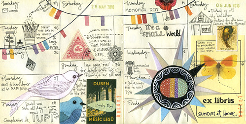 Filled May-June pages | by Geninne