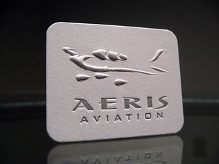 Aeris Aviation Embossed (Front) | by dolcepress
