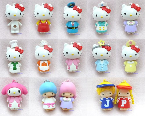 Re-Ment Sanrio Hello Kitty Dress Up Mascot Toys | by brilliant moon for princess