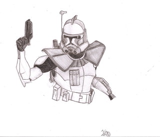 Phase II ARC Trooper drawing | by Louis K.