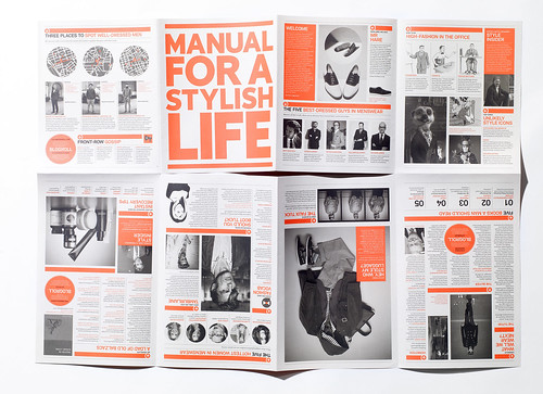 Esquire zine – Manual For A Stylish Life | by SeptemberIndustry