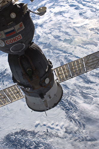 Soyuz and a Winter View of Earth (NASA, International Space Station, 01/05/11) | by NASA's Marshall Space Flight Center