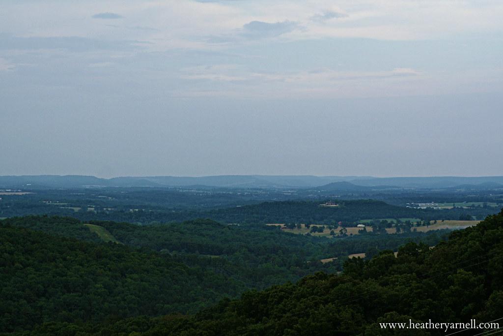 Eureka Springs Arkansas Landscape
