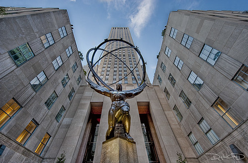 Atlas Statue - New York | by DiGitALGoLD