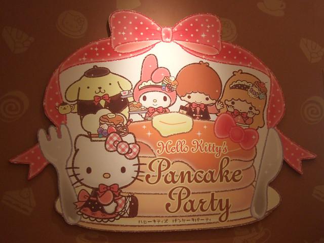 Hello Kitty's Pancake Party