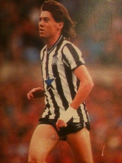 Ooh, and Chris Waddle has joined the tiny shorts party (with minor annotation, if you look carefully) | by benjilanyado