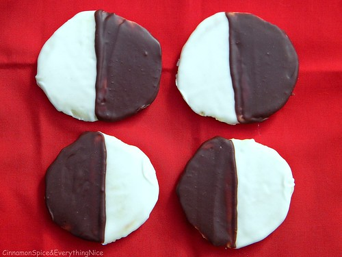 N.Y. Deli Favorites: Black & White Cookies | by CinnamonKitchn
