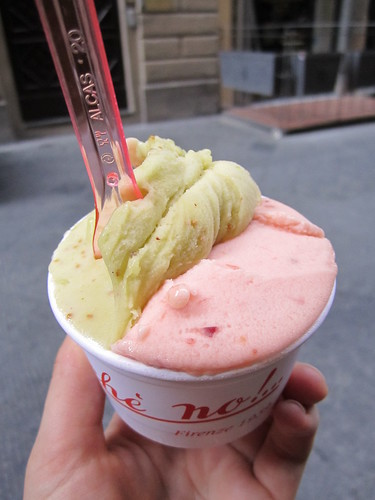 Vegan Fig and Peach Gelato at Perche No! | by veganbackpacker